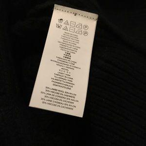 MICHAEL Michael Kors Sweaters - Michael Kors black ruffle sweater, size large